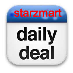 You can enjoy the most profitable deal everyday on Starzmart.com.
