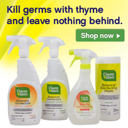 Kill germs with thyme and leave nothing behind!