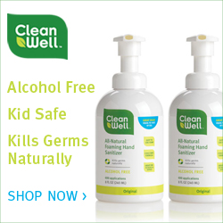 Shop CleanWell CleanWell Foaming Hand Sanitizer Pack