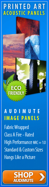 Eco-friendly, Superior Quality Acoustic Panels with Custom Images