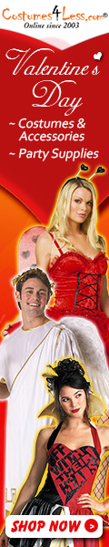 Valentine's Day Costumes & Accessories, Valentine's Day Party Supplies