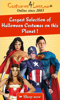 Largest selection of Halloween Costumes on this planet!