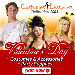 Valentine's Day Costumes, Accessories, Valentine's Day Party Supplies