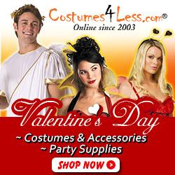 Valentine's Day Costumes & Accessories, Valentine's Day Party Supplies