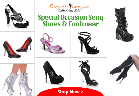 Special Occasion Sexy Shoes & Footwear