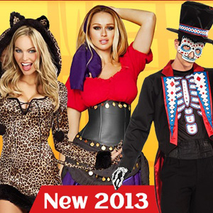 New 2013 Halloween Costumes
