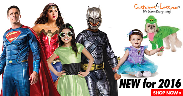 New Halloween Costumes 2015