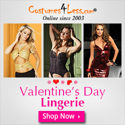 Costumes4less Valentines Day Lingerie