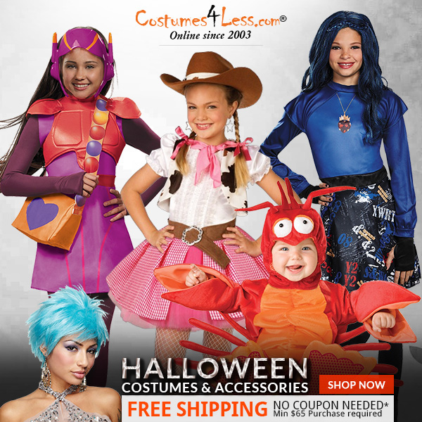 Popular Halloween Costumes and Accessories 2016