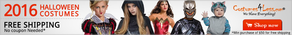 Halloween Costumes and Accessories 2016