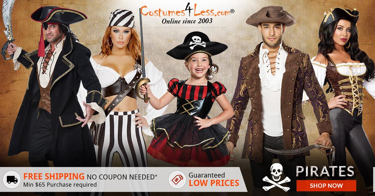 Pirates Costumes & Accessories