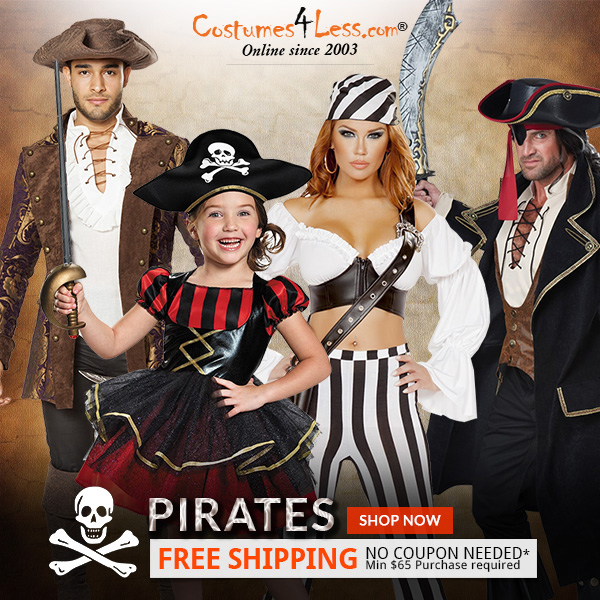 Pirates Costumes & Accessories