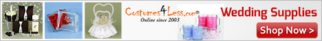 Entire line of Wedding Supplies from Hortense B. Hewitt on Costumes4Less.com