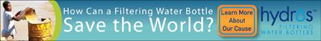 Hydros Filtering Water Bottles