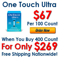 400 Count One Touch Ultra $269