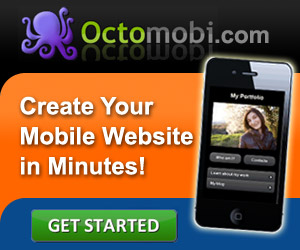 Create your mobile website with Octomobi