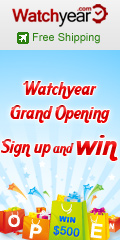Watchyear Grand Opening,Sign Up and Win Up To $500.Valid From July 19th to August 12th.