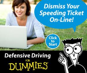 Dismiss Your Speeding Ticket Online!