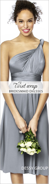 convertible twist dress