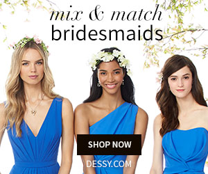 Mix and Match Bridesmaid Dresses from the Dessy Group