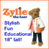 Zylie the Bear is stylish, fun and educational!