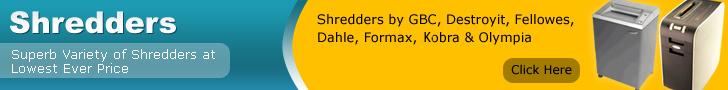 Lowest Price Shredders