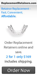 Order retainers online and Save over $300 plus time No dentist appointment needed