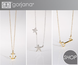 Gorjana symbol necklaces