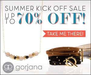 gorjana Summer Sample Sale