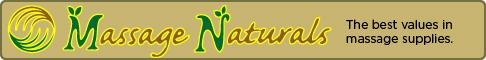 Massage Naturals, the best values in massage supplies