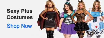 Sexy Plus Size Costumes from HalloweenAndCostumes.com