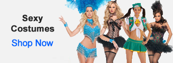 Sexy Costumes from HalloweenAndCostumes.com