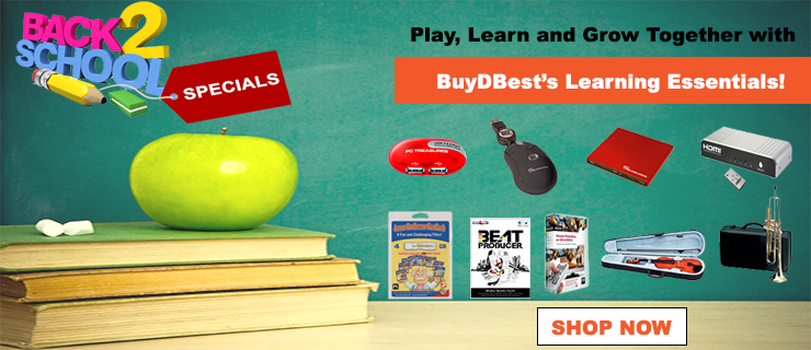 Play, learn, and grow together with BuyDBest's learning essentials!