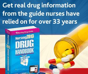 New 2013 Nursing Drug Handbook from LWW.com!