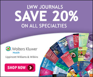 Get 20% Off Journals at LWW.com