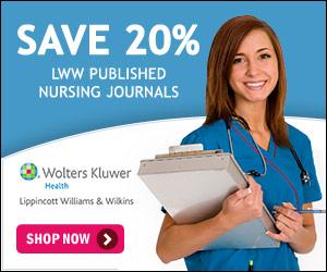 Save 20% on LWW Published Nursing Journals