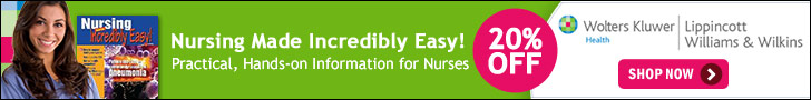Save 20% on Nursing Made Incredibly Easy: Practical, Hands-on Information for Nurses
