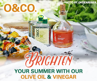 Brighten Your Summer with Olive Oil and Vinegar