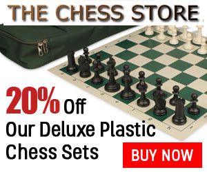 The Chess Store Plastic Chess Sets - 20% Discount