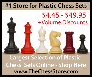 The Chess Store Plastic Chess Sets