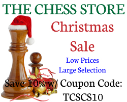 Christmas Sale by The Chess Store