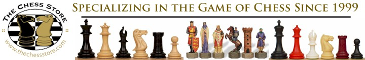 The Chess Store Big Chess Set Banner