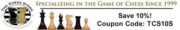 10% off on all orders – TCS by The Chess Store