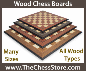 The Chess Store Wood Chess Boards