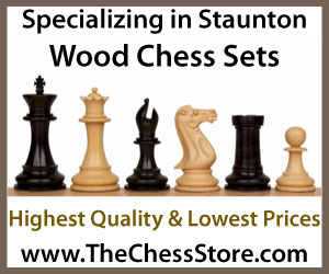 The Chess Store Wood Chess Sets