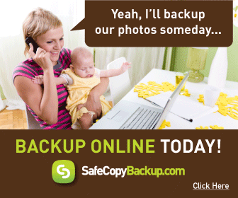 Why wait to backup?  Backup Online today with SafeCopy Backup.