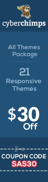 All Themes Package $30 Off