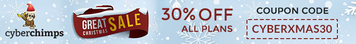 30% Off All Plans - Coupon - CYBERXMAS30