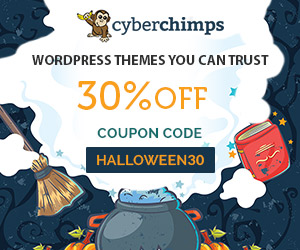 CyberChimps WordPress Themes and Plugins - Coupon HALLOWEEN30