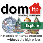 Handmade Glass Christmas Ornaments